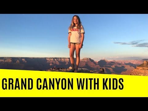 VISITING GRAND CANYON (SOUTH RIM) WITH KIDS: A 2-DAY ITINERARY