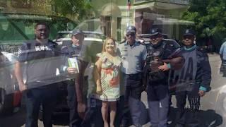 Prefeita Iris Gadelha conseguiu Uma viatura para a Policia Militar através do Governador Camilo