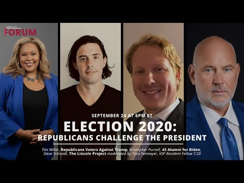 Election 2020: Republicans Challenge the President