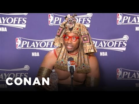 NBA Press Conference Fashion Is Getting Insane - CONAN on TBS