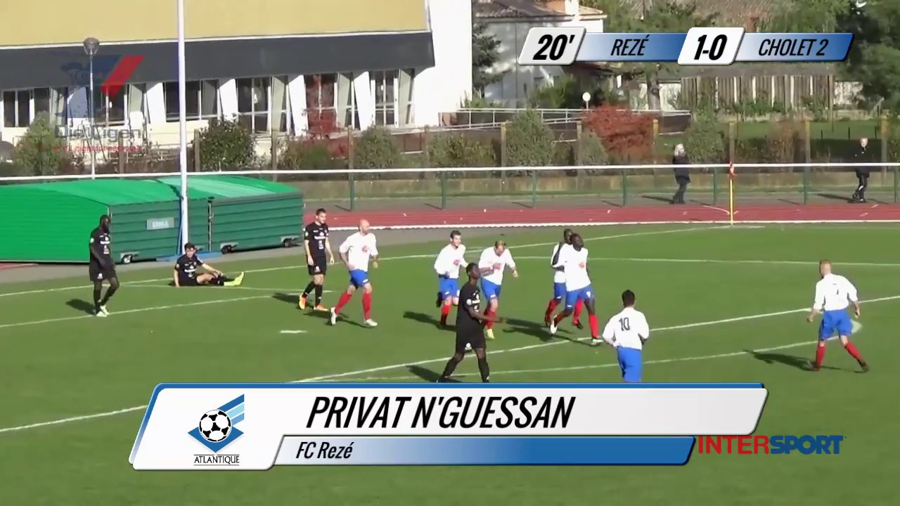 4da77e5eefc DH Intersport : le résumé du match FC Rezé / SO Cholet (2-1) - YouTube