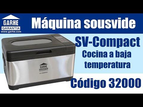 Cocina a baja temperatura con garhe sv compact for Cocina a baja temperatura