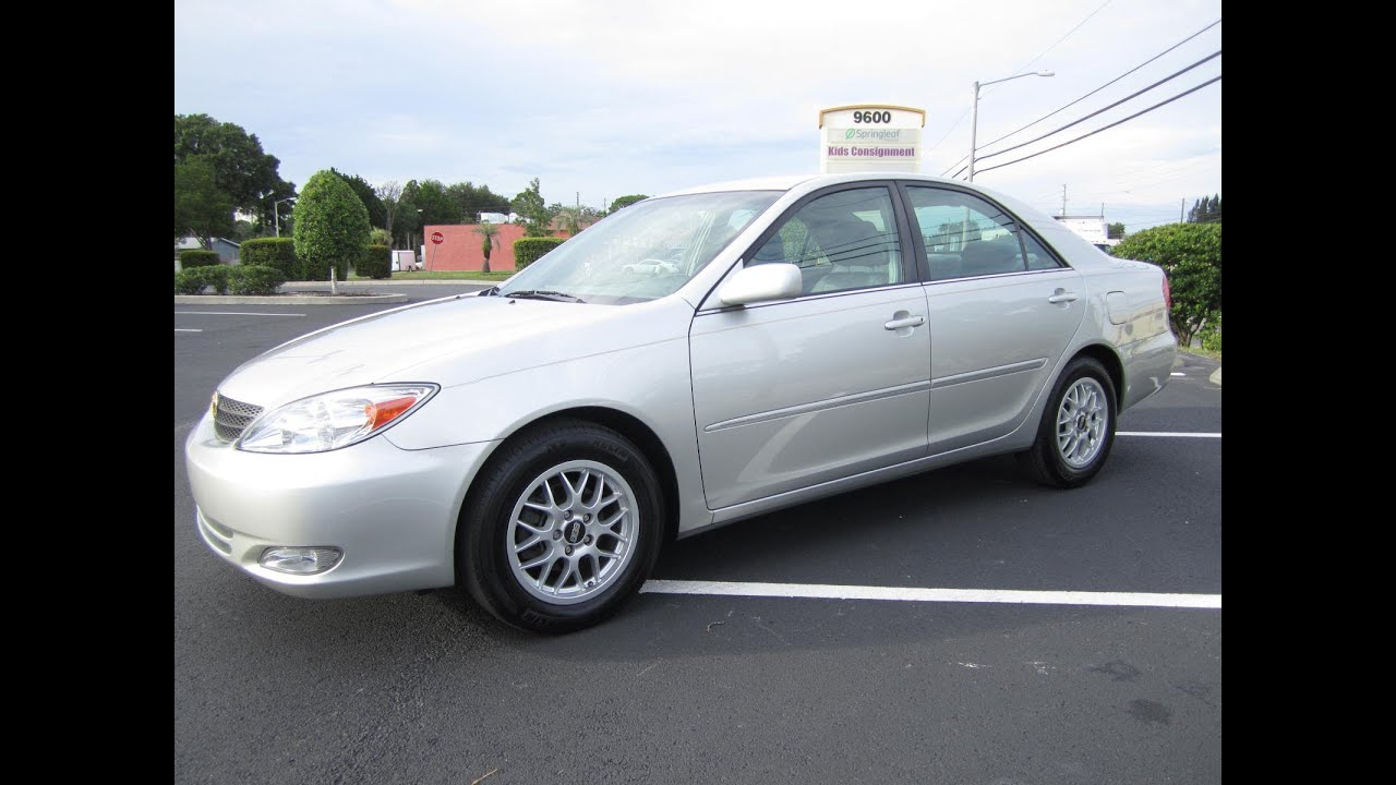 Amazing SOLD 2004 Toyota Camry XLE 85K Miles Meticulous Motors Inc Florida For Sale    YouTube