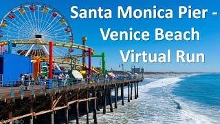 Santa Monica Pier - Venice Beach Boardwalk Virtual Run