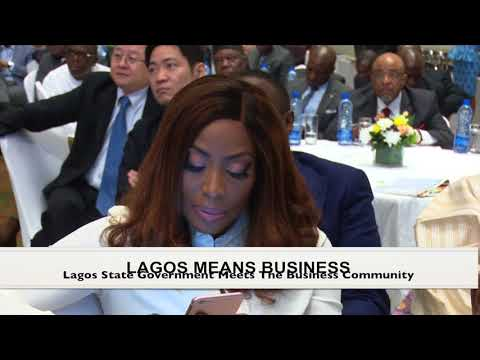 Governor Ambode At Lagos Means Business