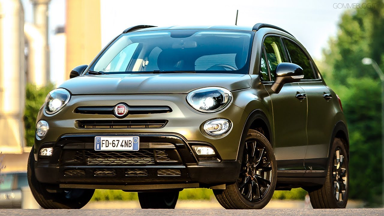 new fiat 500x s-design: s-side of the city and off-road look - youtube