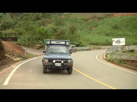 Carretera Portovelo - Salatí - Ambocas   Provincia De El Oro
