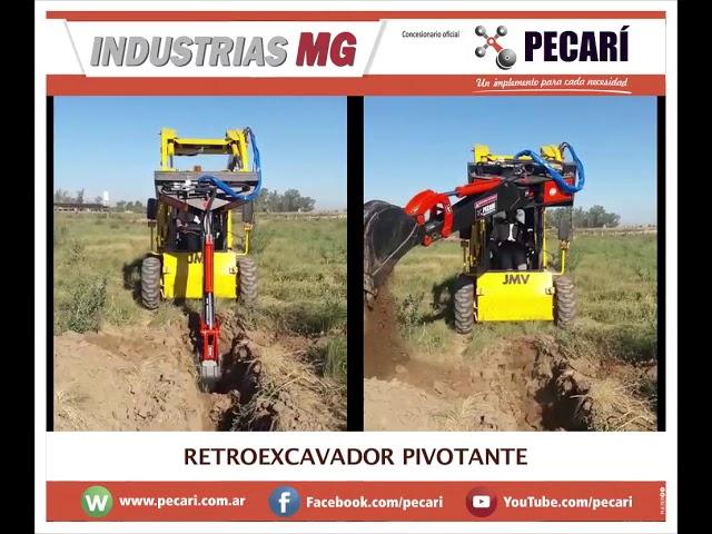 Retroexcavador Pivotante | Industrias MG