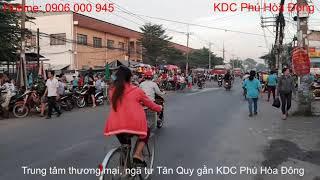 Khu Dân Cư Phú Hòa Đông - TT Thương Mại, Ngã Tư Tân Quy
