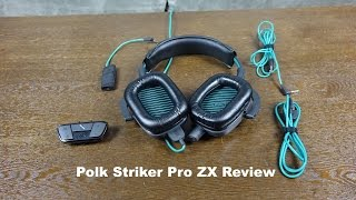 Polk Striker Pro ZX Review: Premium Audio