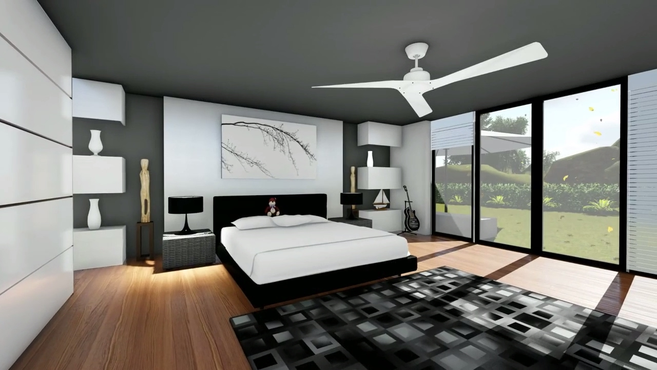 How to do a realistic Bedroom 3D Rendering with Lumion - YouTube