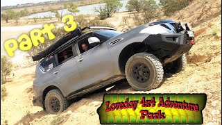 Y62 Winching Action @ HILL CLIMB - Loveday 4x4 Adventure Park