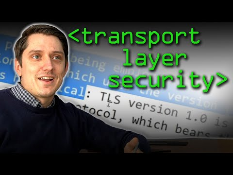 Transport Layer Security (TLS) - Computerphile