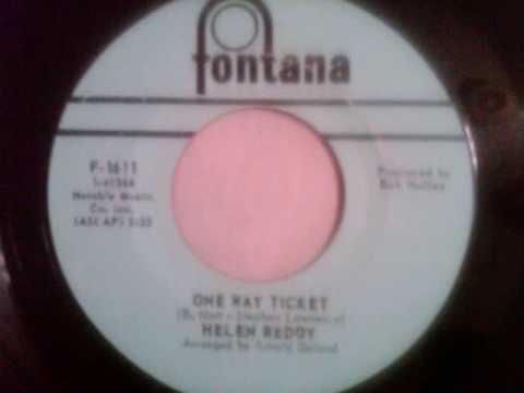 Helen Reddy-One Way Ticket