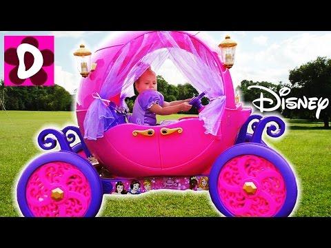 Волшебная Карета Принцессы В РЕАЛЬНОЙ ЖИЗНИ Сказка для Девочек Принцесса за Рулем Видео для Детей