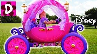 Волшебная Карета для маленькой Принцессы Видео для Детей DISNEY PRINCESS CARRIAGE