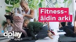 Fitnesspäiväkirja2020 | Nanna Karalahti & äitiys ja liikunta | Dplay.fi