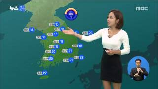 MBC뉴스24 20140904 박신영 일기예보