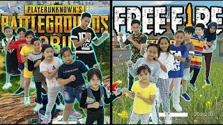 Download Lagu PUBG VS FREE FIRE BATTLE DANCE - KIDS VERSION - CHOREOGRAPHY BY DIEGO TAKUPAZ mp3