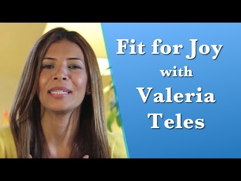 FIT FOR JOY BOOK CAMPAIGN - Valeria Teles