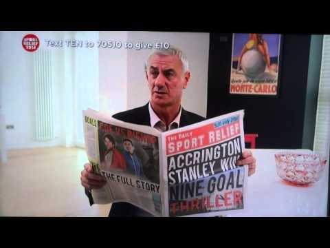 Robbie Fowler, Steve McManaman & Ian Rush do Sport Relief! Classic Accrington Stanley Advert!