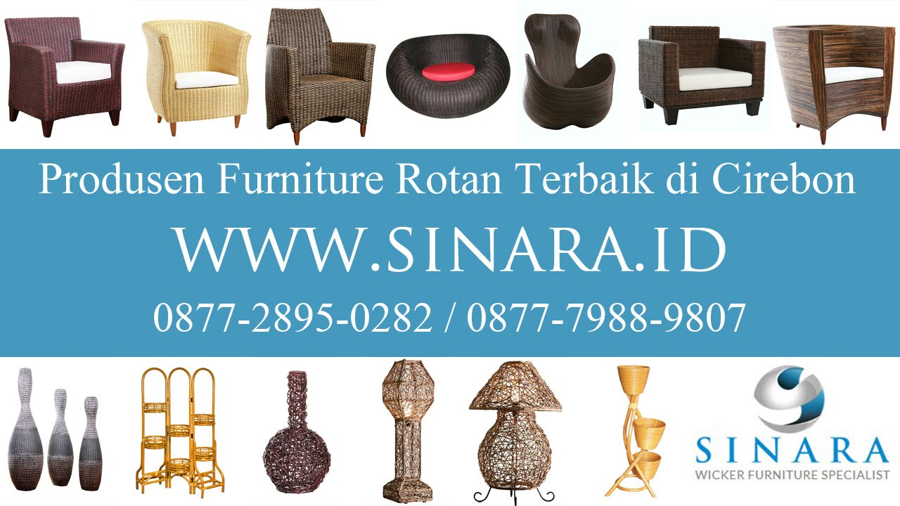 Toko Furniture Mebel Rotan Sintetis Online Terbaik Di
