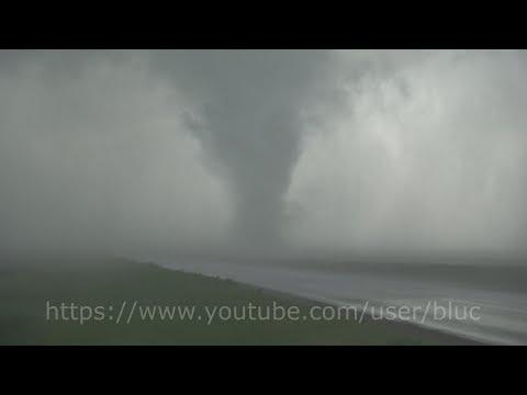 Extremely Close Multi-vortex Tornado near Buxton, North Dakota. July 11, 2017