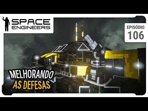 Melhorando as defesas da Estação - Space Engineers - Coop - ep 106