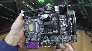 Обзор материнской платы на 775 сокете, чипсет Intel G41 от Minesu