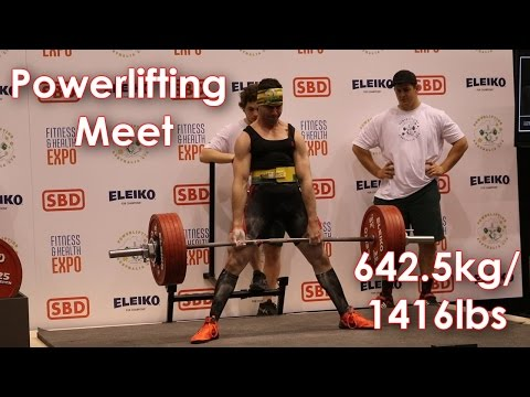 Powerlifting Australia - Perth Open Championships 642.5kg @ 81.8kg