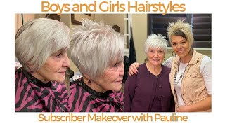 Hairstyles Over 70 Cute Short Pixie Haircut Youtube