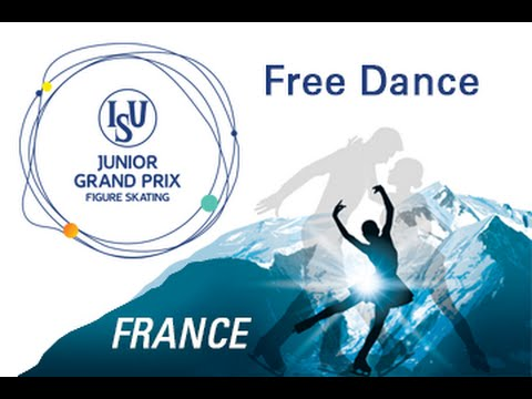 ISU Junior Grand Prix- St. Gervais Free Dance New Link 2016  ( Last Group)