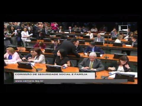 SEGURIDADE SOCIAL E FAMÍLIA - Reunião Deliberativa - 11/04/2018 - 10:27