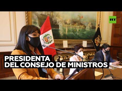 Pedro Castillo designa a Mirtha Vásquez como presidenta del Consejo de Ministros de Perú