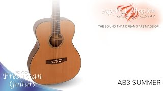 Apollo Boutique Series - AB3 Summer Overview - Freshman Guitars