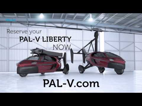 PAL V Launches the PAL V Liberty