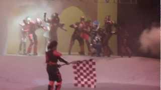 G.I.A. Expreso Astral: Escena 2da Carrera