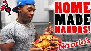 How to Cook Nandos Chicken at Home! (Healthy Recipe)
