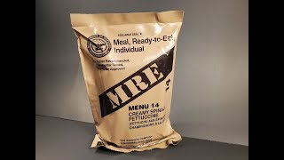 Get Screenshots for video :: 2019 US MRE Creamy Spinach Fettuccine Another One of the Worst Meal Ready to Eat Tasting Test