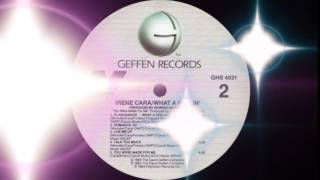 Irene Cara - Flashdance ... What A Feeling (Radio-Edit) Geffen Records 1983