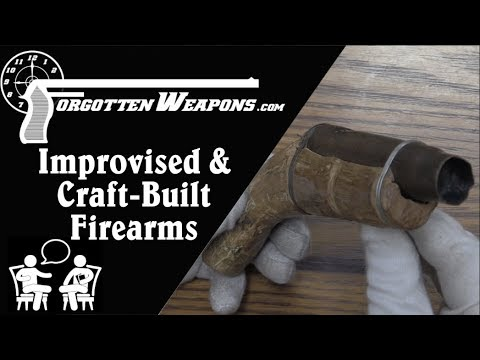 Improvised & Craft-Built Firearms w/ Jonathan Ferguson & Nic Jenzen-Jones