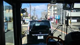 【前面展望】新瑞橋~御器所通~栄【名古屋市交通局バス・栄20系統_日本縦断中!】