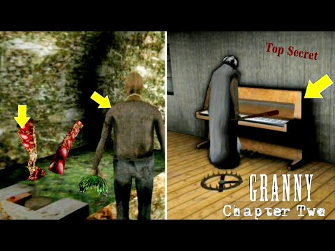 Granny Plays Piano And Grandpa Feeds River Monster|| Granny Chapter 2 Secrets