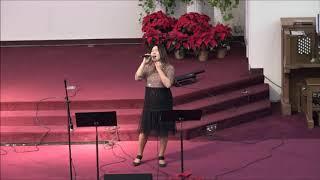 """1210 CMC """"O Holy Night"""" -  GraceLee * 세리토스선교교회 * 촬영 김정식 *  2017-12-10"""