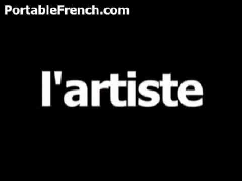 French word for artist is l'artiste
