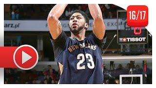 Anthony Davis Full Highlights vs Bulls (2017.01.14) - 36 Pts, 14 Reb, 3 Blks