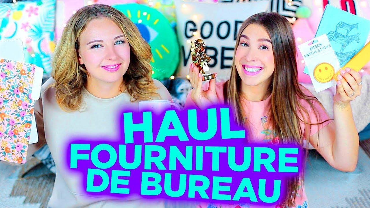 Haul fourniture de bureau concours back to school 2e for Fourniture de bureau grenoble
