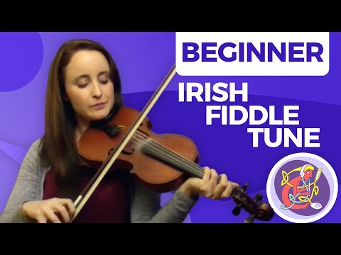 Irish Fiddle Lesson - [The Basics] Maggie In The Woods