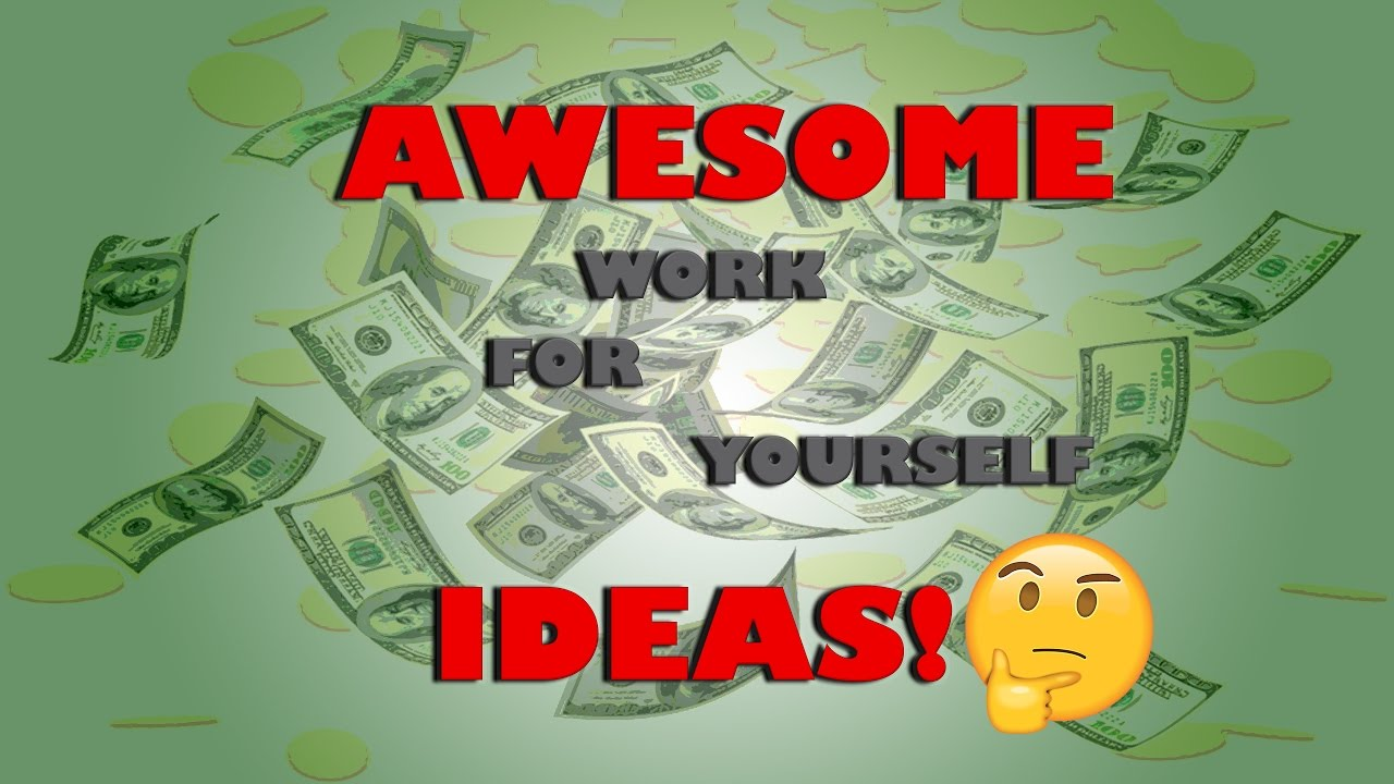 how to make lots of money self employed