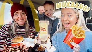 McDonald's BIG MAC MUKBANG! They sent me the LIMITED EDITION SAUCE?!